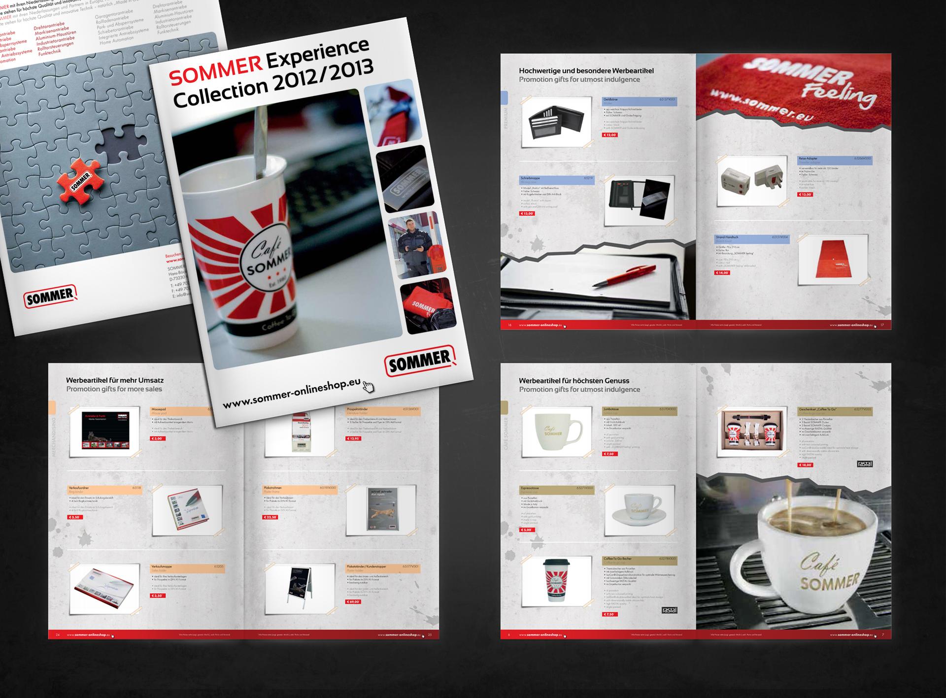 SOMMER Merchandising Katalog