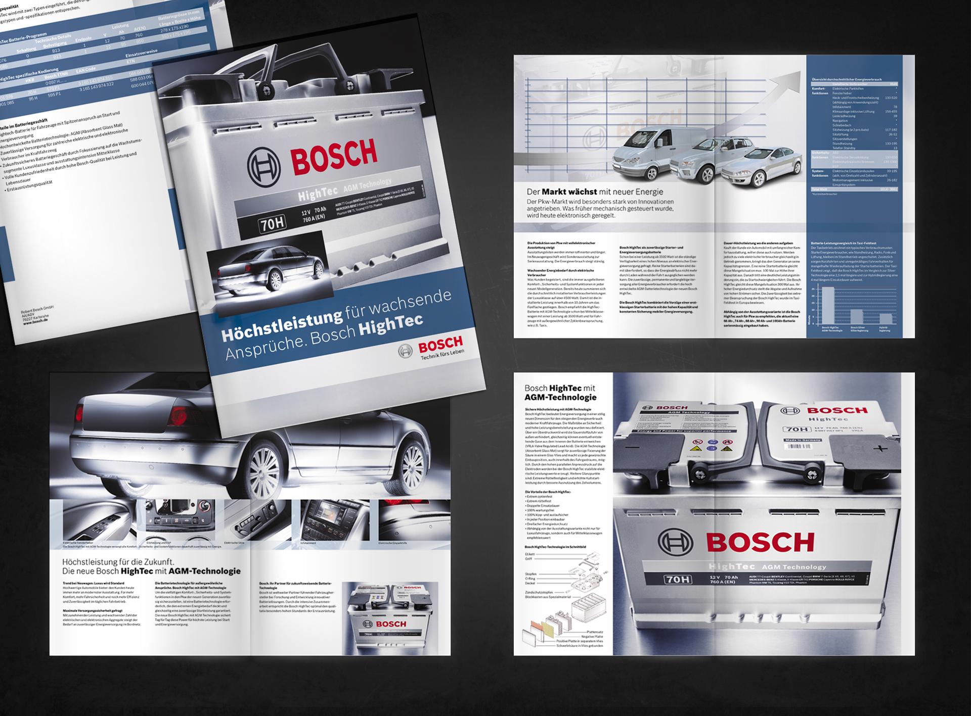 Bosch Produktbroschüre