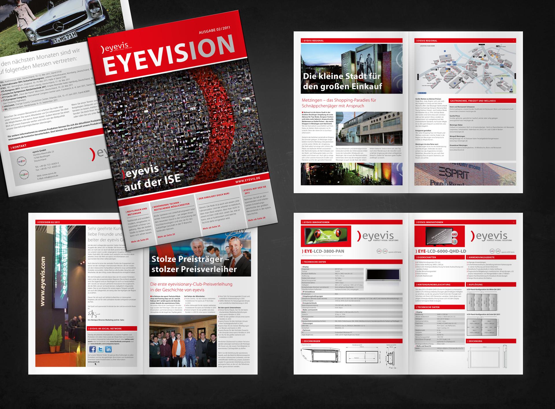 eyevis EYEVISION Kundenmagazin