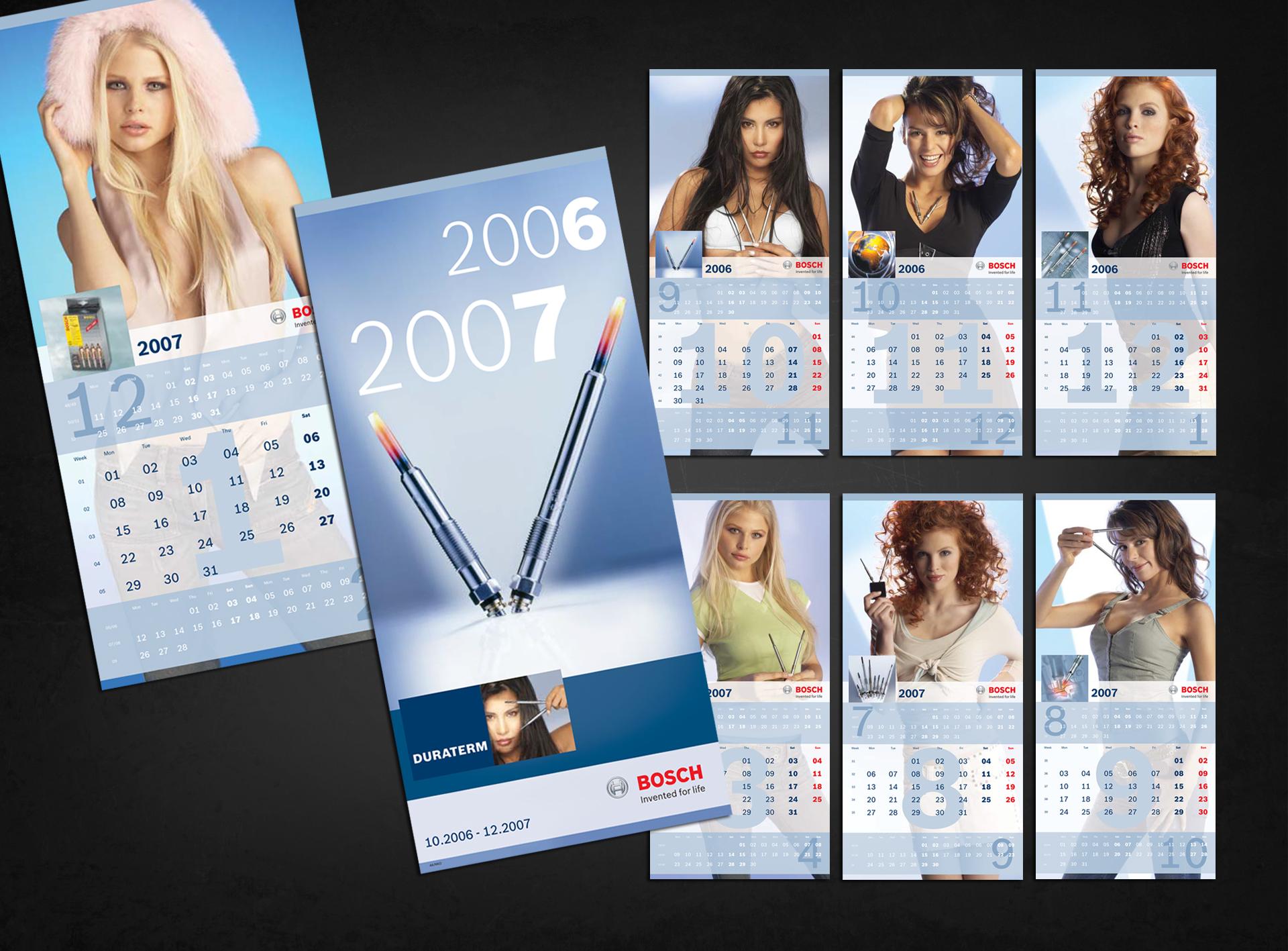 Bosch Produktkalender