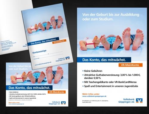 Volksbank VR-MeinKonto Kampagne